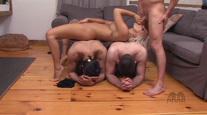 jessie-storm-and-her-boyfriend-humiliate-arab-slaves