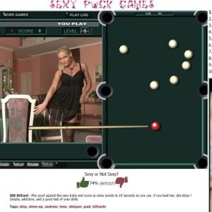 pool sexy fuck games