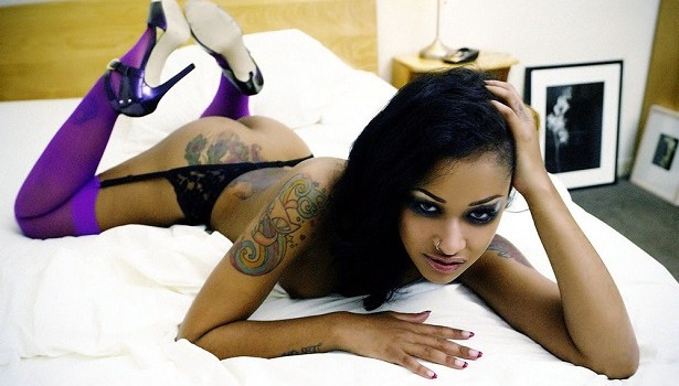Black porn stars with tattoos photo