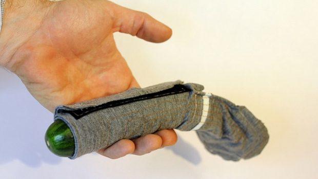 condón digital prototipo de anguila eléctrica