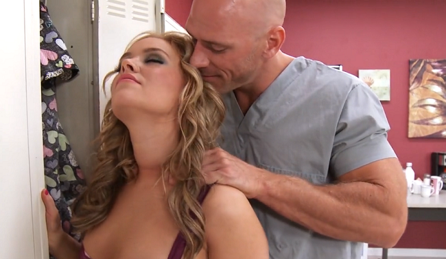 Johnny Sins Kissa Sins Public