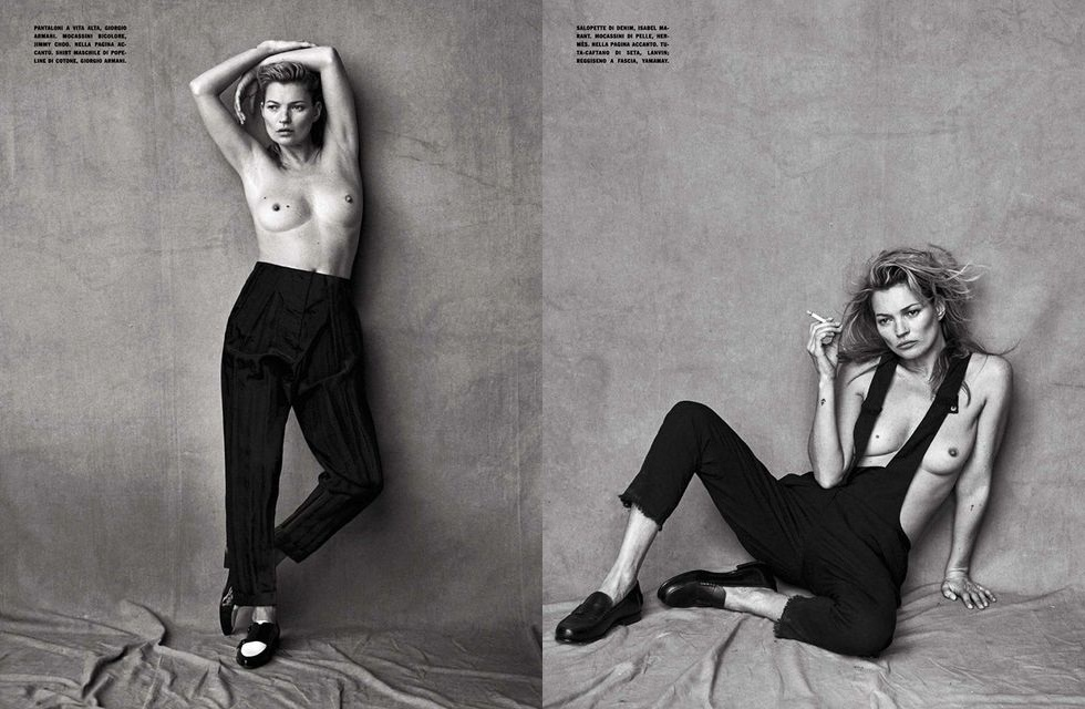 Topless kate moss The 23